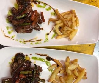 Navarra: Carta de Restaurante Palmanova