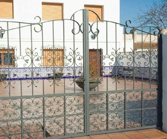 BARANDILLA: Catálogo de Cerrajería Ainobar