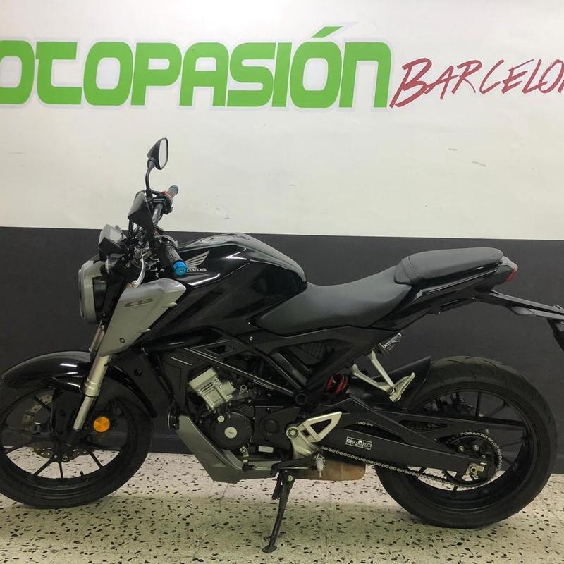 HONDA CBF 125 NA: Motos de Motopasión Barcelona