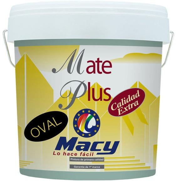 Mate Plus Oval en almacen de pinturas en ventas