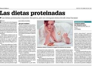 Las dietas proteinadas