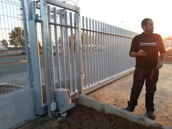 Reparacion de puertas correderas metalicas