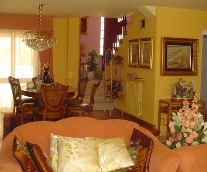 Adosado sector Hispanidad - Barrio Oliver, 4 dormitorios, con bodega: Inmuebles de Fincas Goya