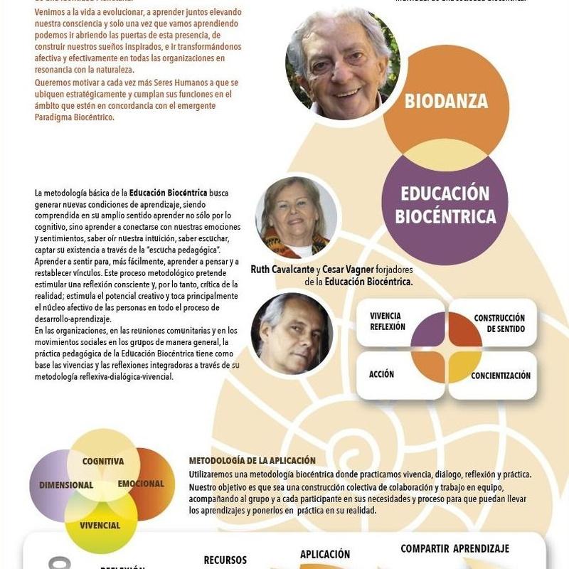 Educación Biocéntrica y Biodanza en las Organizaciones: CURSOS de Augusto Madalena
