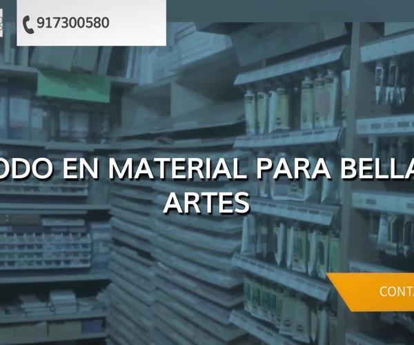 Tiendas de Bellas Artes en Madrid centro | Artisa