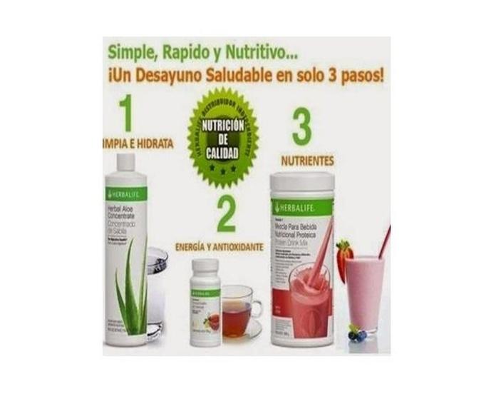 Desayuno saludable y equilibrado: Productos de Herbalife Nerea