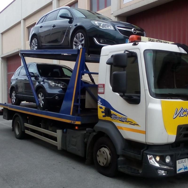 Vehículos: Grúas y transporte de Grúas Víctor García S.L.