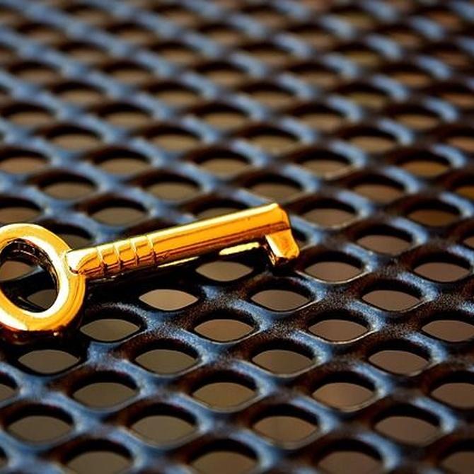 Revisar la cerradura de tu casa y otros consejos de seguridad