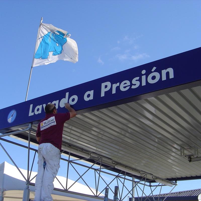 Pintors Martínez # señalización para empresas.