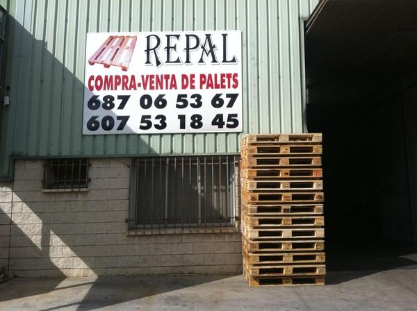 compra venta de palets en madrid