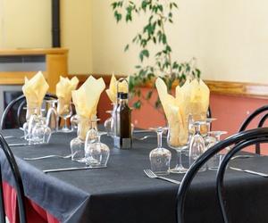 Mesas de nuestro restaurante en Teruel