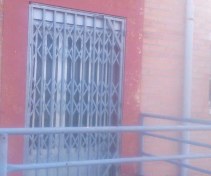 REJAS EXTENSIBLES: Servicios de Exposición, Carpintería de aluminio- toldos-cerrajeria - reformas del hogar.