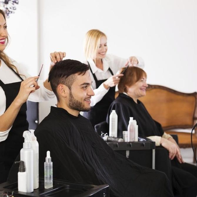 Utiliza la psicología del color para decorar tu peluquería