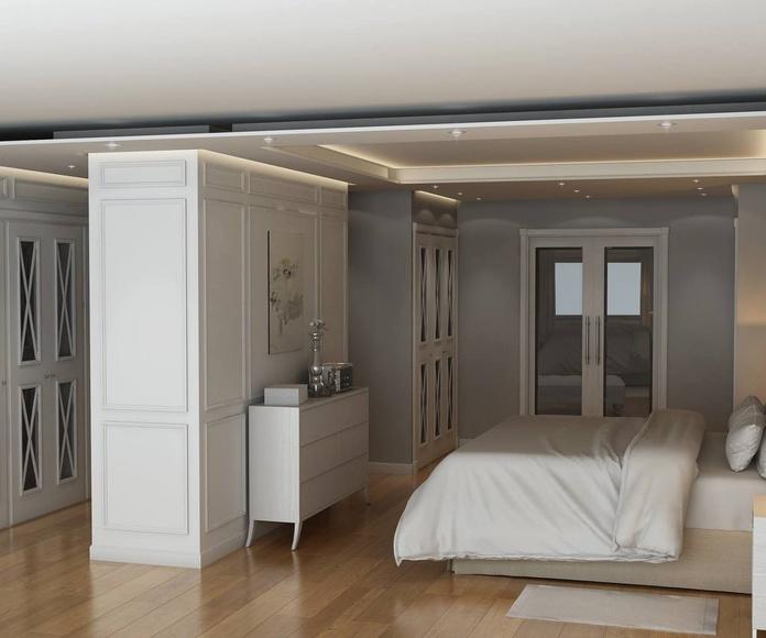 Una habitación de palacio
