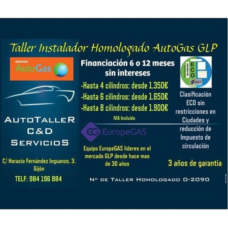 Taller instalador homologado GLP: Servicios de Autotaller C&D Servicios