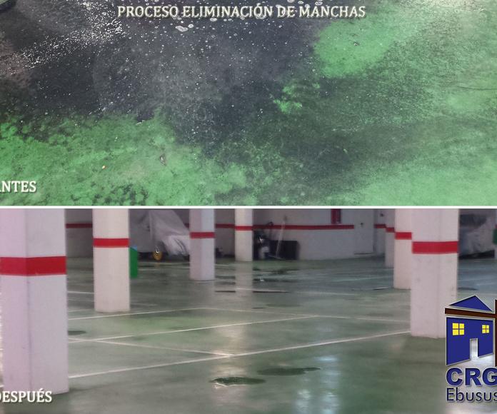 Cleaning service: Services de CRG Ebusus