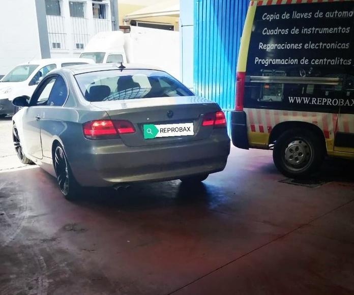 BMW 330. Fallo control electrónico de caja de cambio