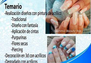 Curso decoración de uñas