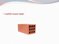 LADRILLO HUECO TRIPLE