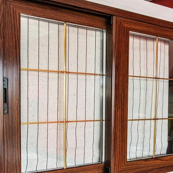 Descubre las ventanas de aluminio imitación madera
