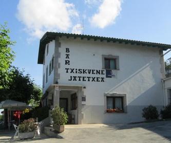 Especialidades: Carta de Bar - Restaurante Txiskuene Jatetxea