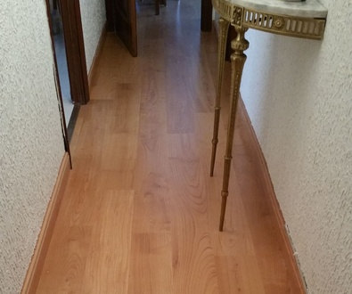 Quick-Step serie Eligna Cerezo en planchas-calle La Mancha-Madrid