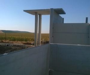 Construcción de casas con estructuras prefabricadas de hormigón