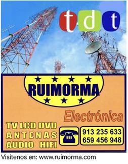 Ruimorma en Habitissimo como reparación de antenas en Plaza de Castilla