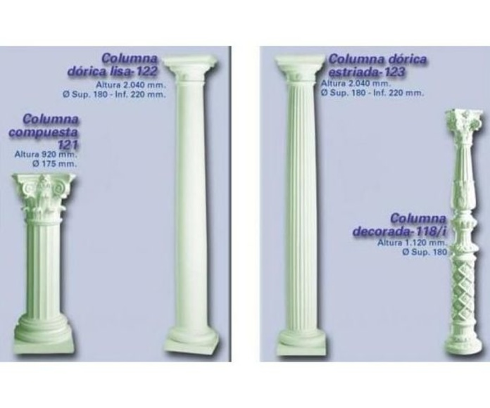 Columnas : Productos de Escayola y Pladur Hidalgo