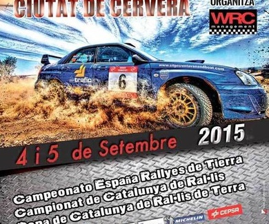 Rally Cervera, Lleida · Campeonato de España y Cataluña