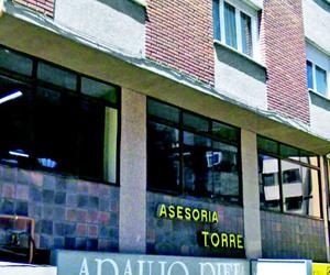 Entrada y recepción de la Asesoría Torre