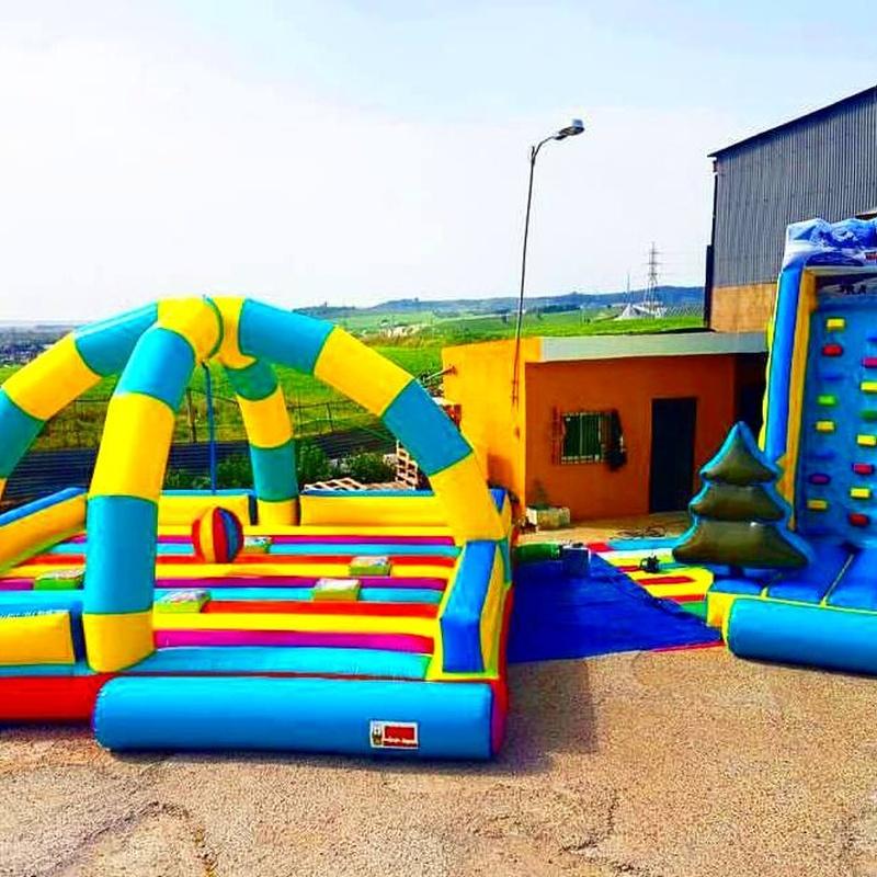 Castillo Hinchable Rocodromo: Catálogo de Hinchables Happy Jump