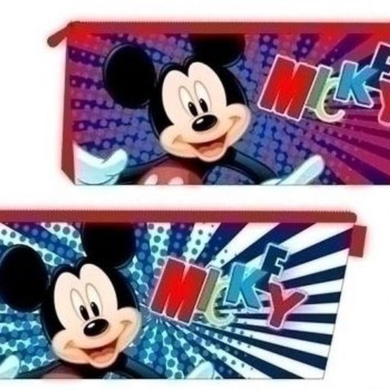 Portatodo una cremallera Mickey Mouse