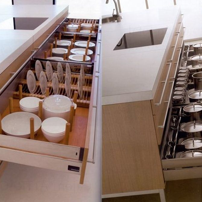 Trucos para aprovechar el espacio de almacenaje de tu cocina