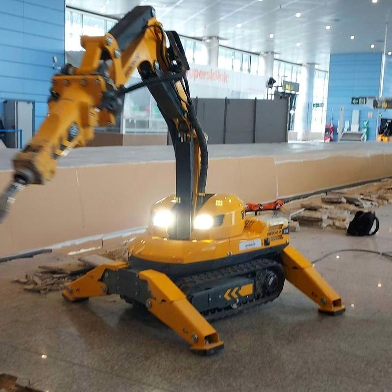 Robot Eléctrico para Demoliciones: Servicios de Cortes & Perforaciones RG