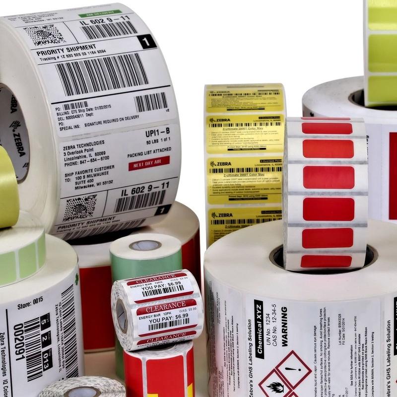 Etiquetas Térmicas Adhesivas y Textiles: Productos y Servicios de STGlobal - Identificación y Etiquetado