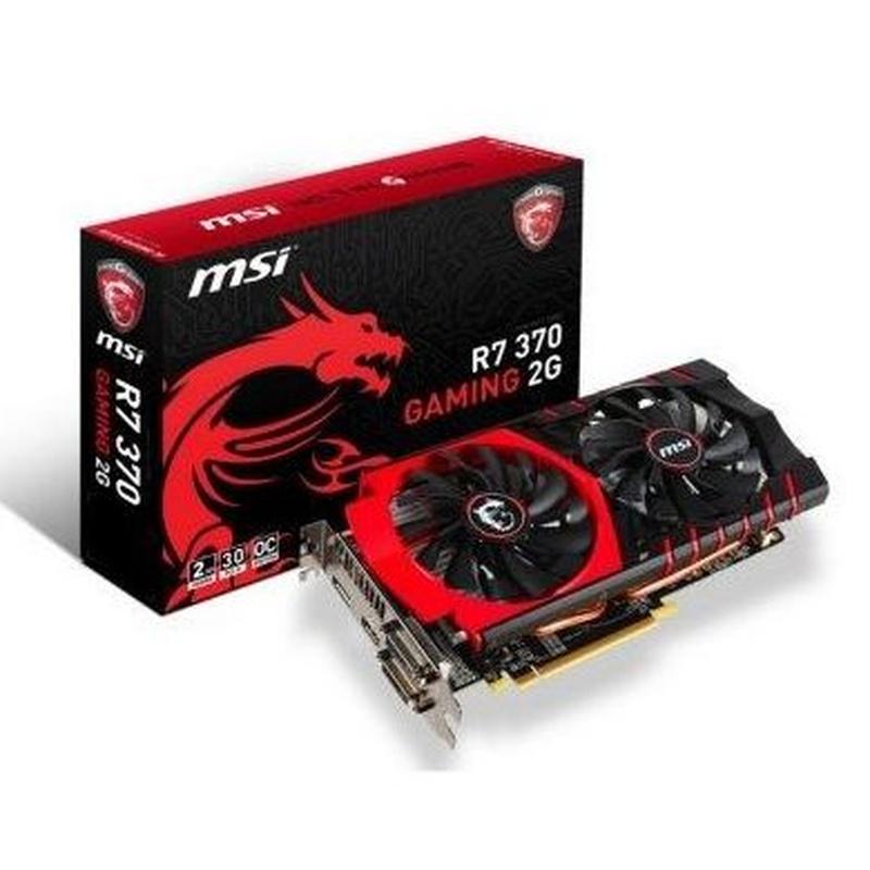 MSI VGA AMD RADEON R7 370 Gaming 2GB DDR5: Productos y Servicios de Stylepc