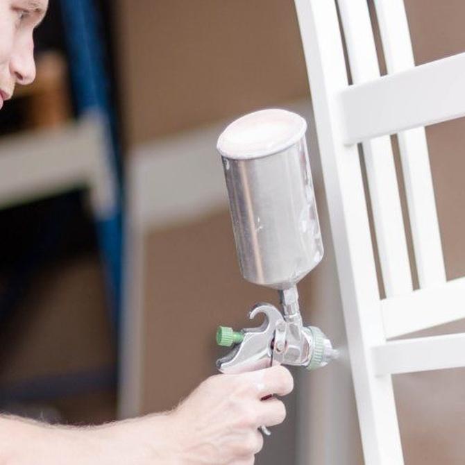 Renueva tu decoración lacando tus muebles