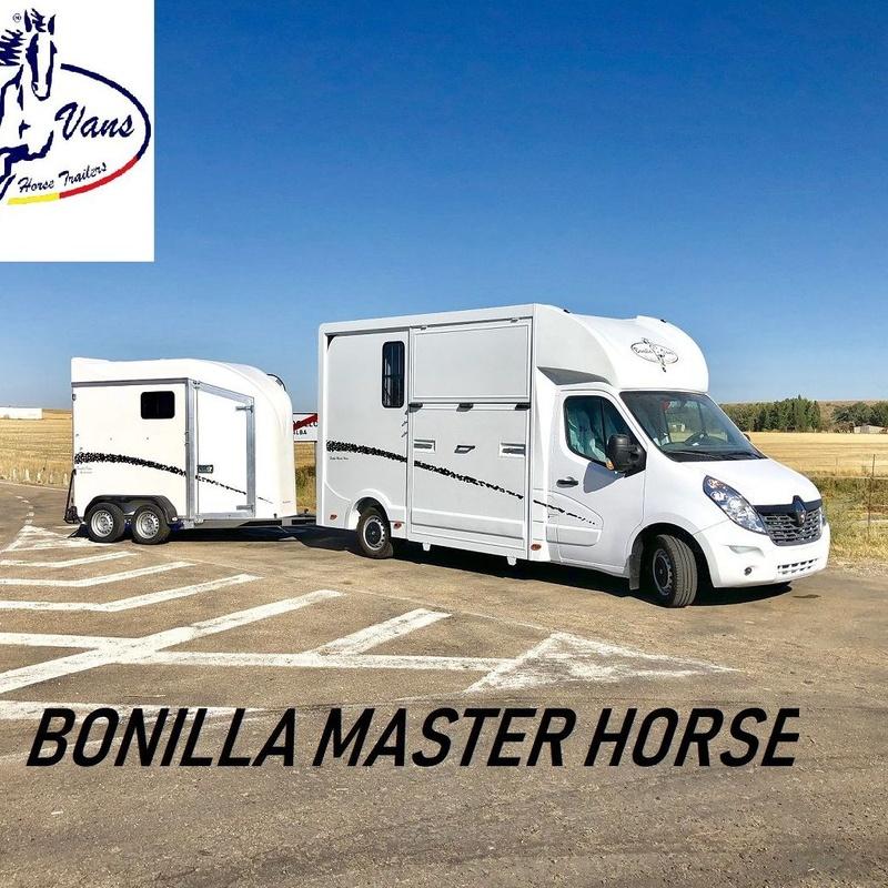 FURGONETA PARA CABALLOS BONILLA MASTER HORSE