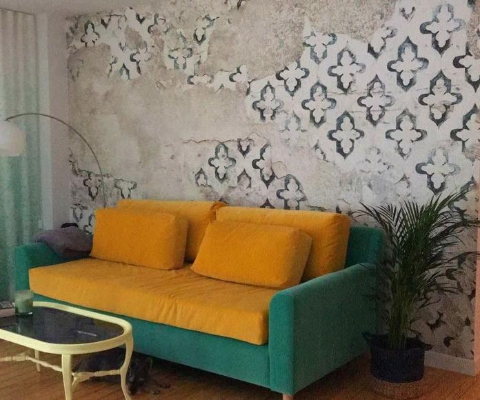 Diseño y fabricación de sofá a medida para proyecto de interiorismo