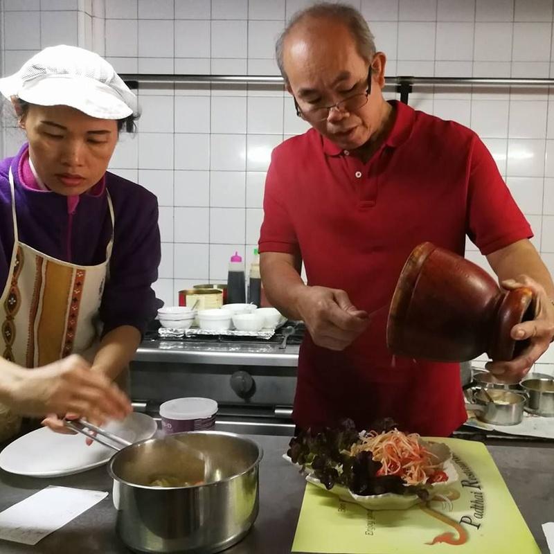 Especial thai curry: Amplia carta de Padthai Restaurant