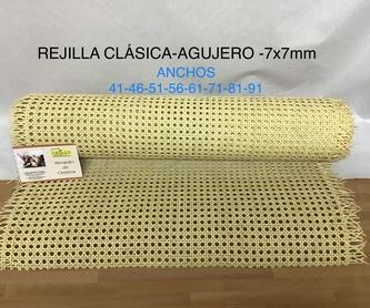 Rejilla tupida 3x3 mm: Productos y materias primas de Estilo 2 Bambú, S.L.