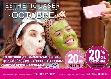 Promoción depilación láser Sagunto