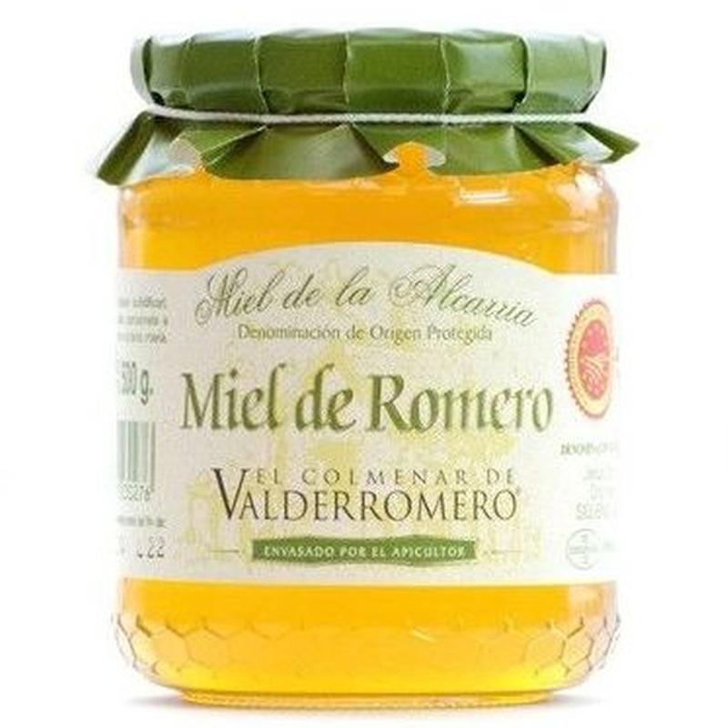 "Miel de romero ""El Colmenar de Valderromero"" 500 g: Productos. Acceso On Line de El Colmenar de Valderromero"