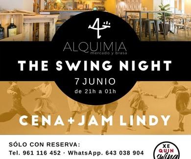 Cena y Baile LINDY HOP