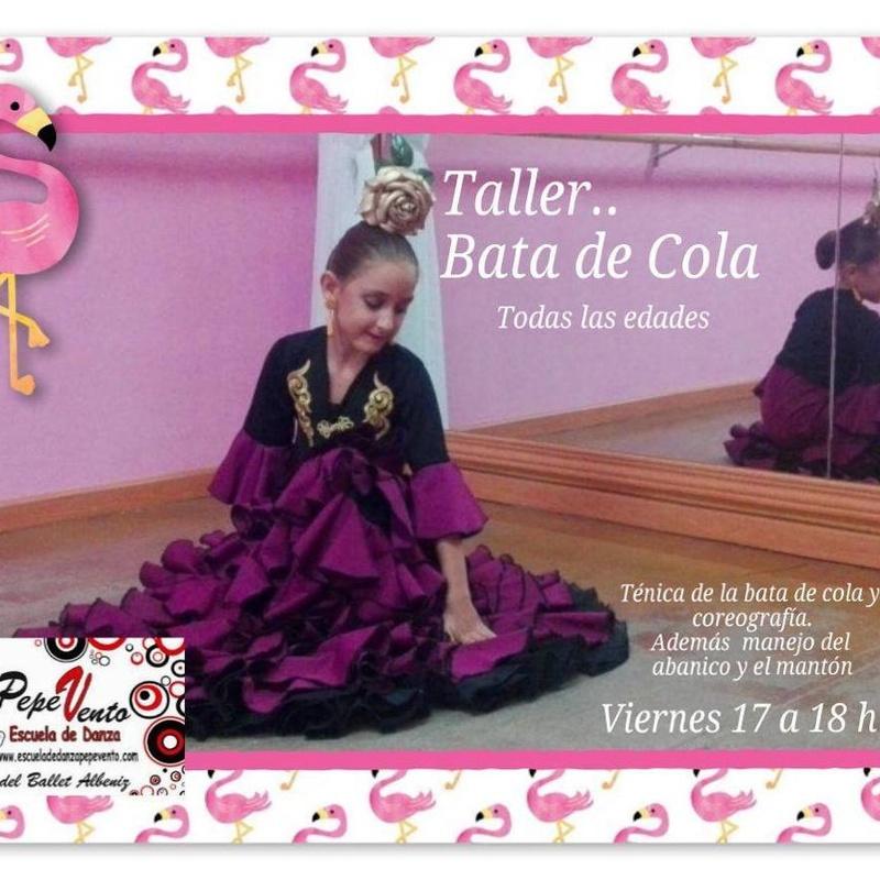 Bata de Cola : Clases de Escuela de Danza Pepe Vento