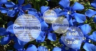 HORARIO PRIMAVERA