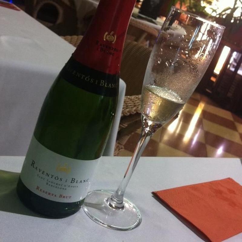 Los mejores champagnes en La Pampa Grill Meloneras