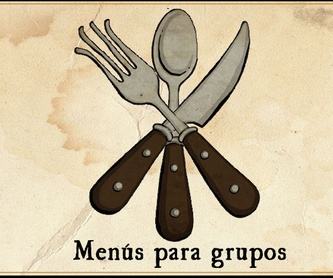 Menu para Grupos 1: Menús  de La Camocha