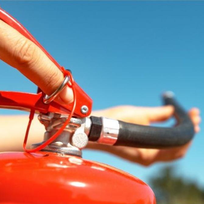 Los extintores y la protección del medioambiente